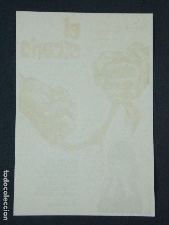 Cine: EL SICARIO - AÑO 1963 - FOLLETO - PROGRAMA CINE - BELINDA LEE .. L727 - Foto 2 - 200155697