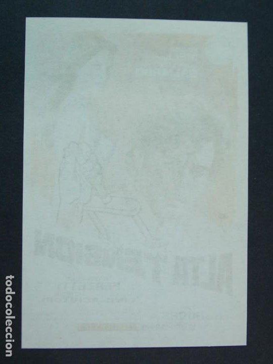 Cine: ALTA TENSION - AÑO 1972 - FOLLETO - PROGRAMA CINE - MARISA MELL - DIBUJANTE JANO ..L760 - Foto 2 - 200166413
