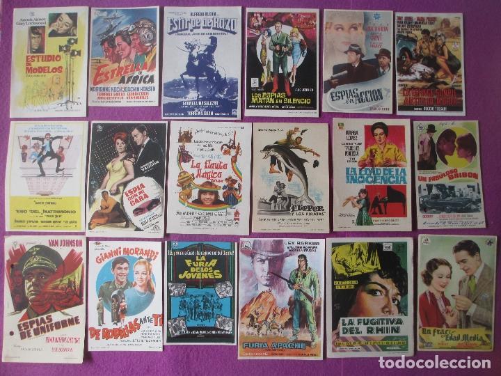 Cine: LOTE 188 PROGRAMAS DE CINE FOLLETO MANO VER FOTOS ADICIONALES - Foto 4 - 200238016