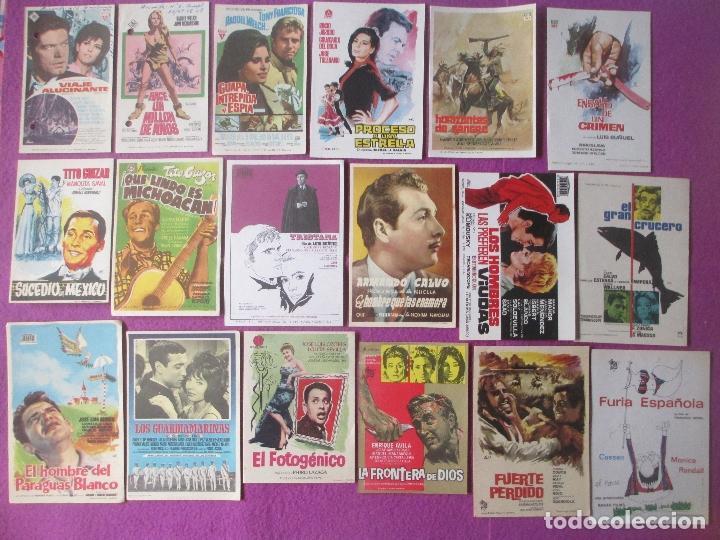 Cine: LOTE 188 PROGRAMAS DE CINE FOLLETO MANO VER FOTOS ADICIONALES - Foto 7 - 200238016