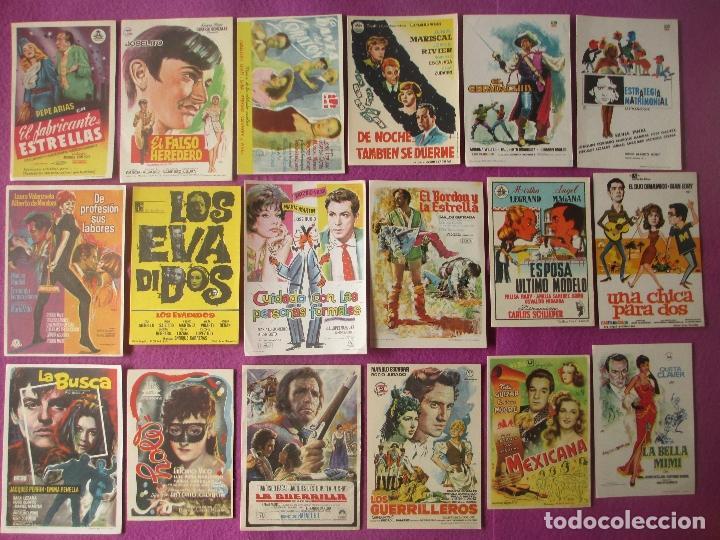 Cine: LOTE 188 PROGRAMAS DE CINE FOLLETO MANO VER FOTOS ADICIONALES - Foto 8 - 200238016