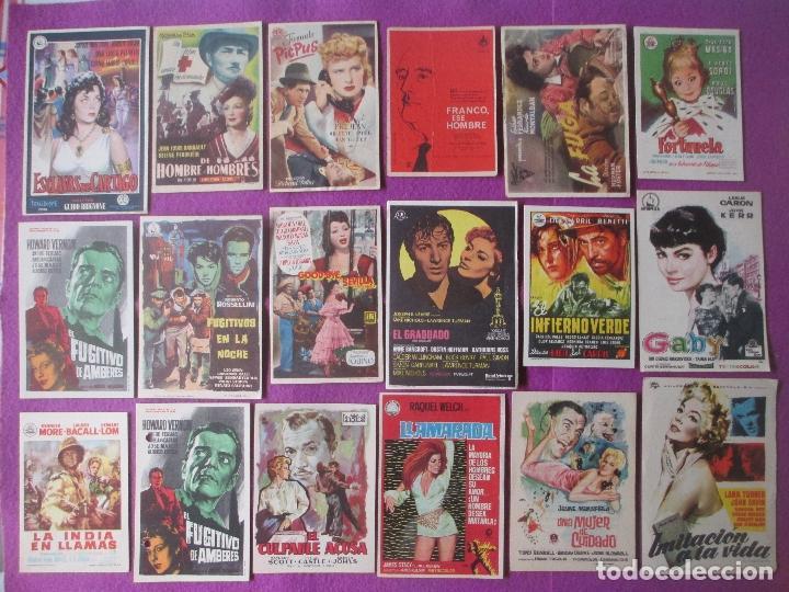 Cine: LOTE 188 PROGRAMAS DE CINE FOLLETO MANO VER FOTOS ADICIONALES - Foto 11 - 200238016