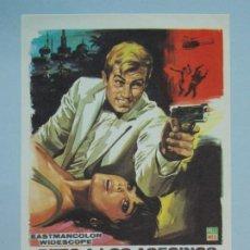 Cine: RETO A LOS ASESINOS - AÑO 1967 - FOLLETO - PROGRAMA CINE - RICHARD HARRISON - ..L854. Lote 201134940