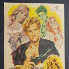 Cine: LOS CABALLEROS DEL INFIERNO - AÑO 1965 - FOLLETO - PROGRAMA CINE CIRCUITO DE CINES DE SANTS ..L867. Lote 201145198