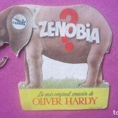 Cine: ZENOBIA OLIVER HARDY PROGRAMA TROQUELADO MUY BUENO. Lote 201157621