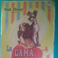 Cine: FOLLETO DE MANO LA DAMA Y EL VAGABUNDO - WALT DISNEY - ORIGINAL. Lote 202583672