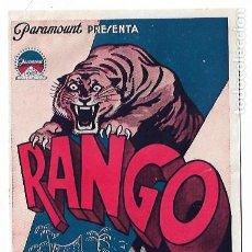 Cine: RANGO - 1933. Lote 202648663