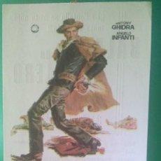"Cine: FOLLETO DE MANO "" BALADA DE UN PISTOLERO "" 1967 - DRAGOMIR BOJANIC-ESTADO PERFECTO. Lote 202648930"