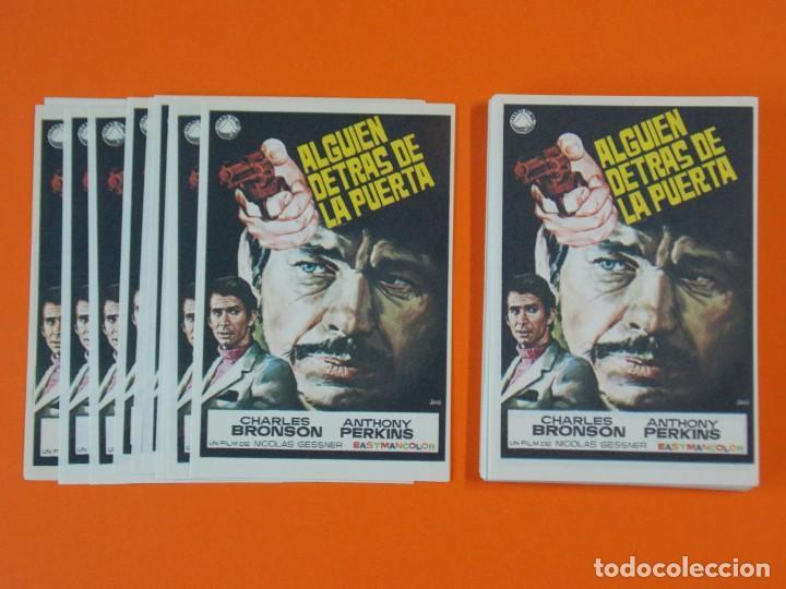 LOTE DE 100 FOLLETOS PROGRAMA CINE - ALGUIEN DETRAS DE LA PUERTA - AÑO 1970 - DIBUJANTE JANO ..L936 (Cine - Folletos de Mano - Suspense)
