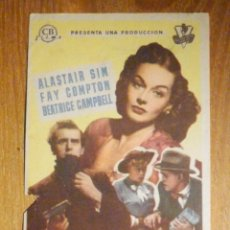 Cine: FOLLETO DE MANO CINE - PELÍCULA FILM - LARGOMETRAJE - RISA EN EL PARAISO. Lote 202781173