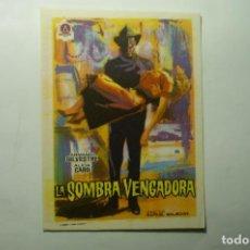 Cine: PROGRAMA LA SOMBRA VENGADORA.- ARMANDO SILVESTRE. Lote 203245747