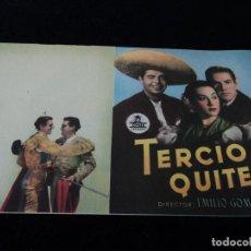Cine: TERCIO DE QUITES (DOBLE) (MARIO CABRÉ - ANTONIO BADÚ LINA ROSALES CHULA PRIETO. Lote 203328071