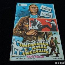 Cine: COMPAÑEROS DE ARMAS Y PUÑETAZOS, STEVE MCQUEEN, JACKIE GLEASON. Lote 203332012