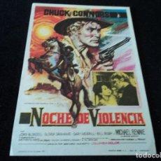 Cine: NOCHE DE VIOLENCIA-BERNARD MCEWEETIC-CHUCK CONNORS-JOAN BLONDELL-GLORIA GRAHAME-BILL BIXBY-1966.. Lote 203393652