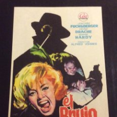 Folhetos de mão de filmes antigos de cinema: FOLLETO DE MANO EL BRUJO . FUCHSBERGER . SIN PUBLICIDAD. Lote 203451140