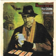 Cine: PN - PROGRAMA DE CINE - DR. TERROR - PETER CUSHING, CHRISTOPHER LEE - CINE CERVANTES (MÁLAGA) - 1966. Lote 203616421