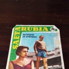 Cine: PROGRAMA DE MANO SAETA RUBIA ALFREDO DI STEFANO. Lote 203912611