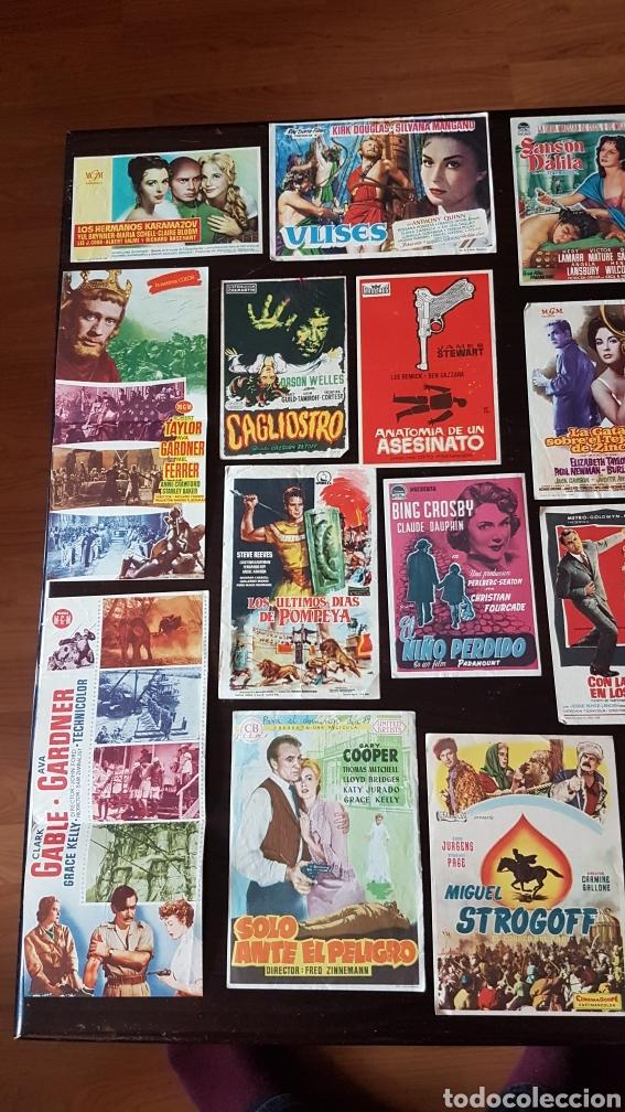 Cine: Lote programas de mano originales cine - Foto 2 - 203918376