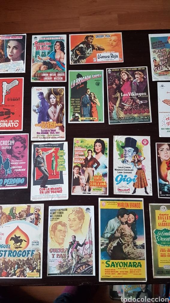 Cine: Lote programas de mano originales cine - Foto 3 - 203918376