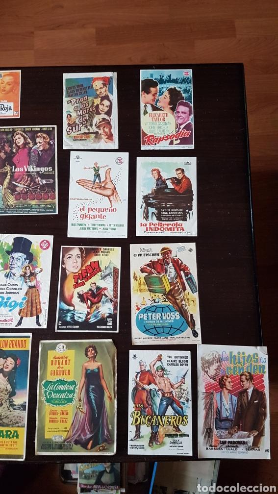 Cine: Lote programas de mano originales cine - Foto 4 - 203918376