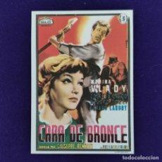Cine: PROGRAMA DE CINE ORIGINAL. CARA DE BRONCE. MARINA VLADY. SIMPLE.. Lote 204277025