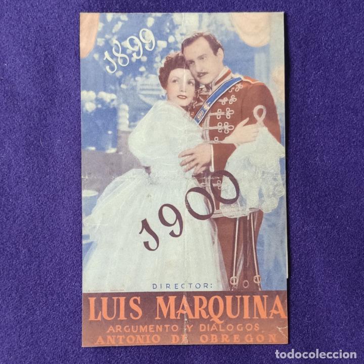 Cine: PROGRAMA DE CINE ORIGINAL. HARO (LA RIOJA). CINEMA CARRASCO. EL ULTIMO HUSAR. LUIS SAGI-VELA. DOBLE. - Foto 3 - 204308983