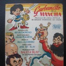 Cine: GARBANCITO DE LA MANCHA. Lote 204404526