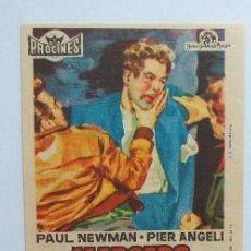 Cine: MARCADO POR EL ODIO PAUL NEWMAN PROGRAMA DE CINE CON PUBLICIDAD. Lote 204593388