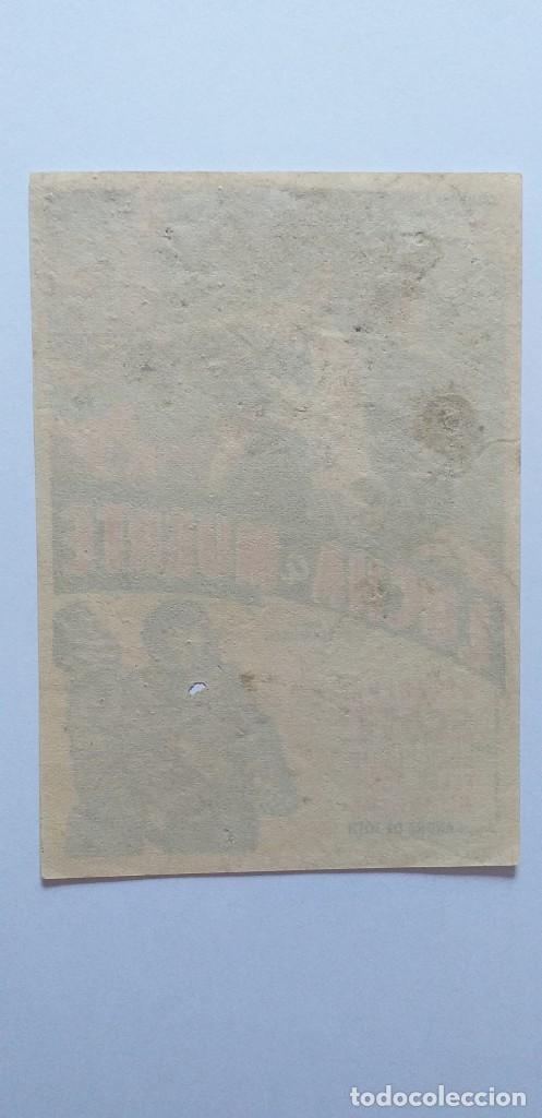 Cine: LUCHA A MUERTE RANDOLPH SCOTT PROGRAMA DE CINE SIN PUBLICIDAD - Foto 2 - 204596001