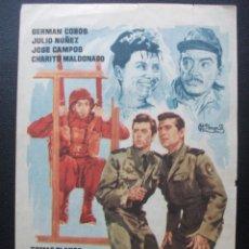 Folhetos de mão de filmes antigos de cinema: UN POSO AL FRENTE, GERMAN COBOS. Lote 204597600