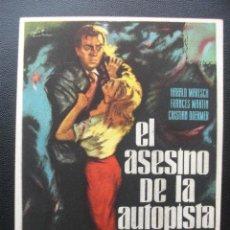 Cine: EL ASESINO DE LA AUTOPISTA. Lote 204599273