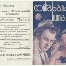 Cine: PTCC 053 CONTRABANDO HUMANO PROGRAMA DOBLE 20TH CENTURY FOX CLAIRE TREVOR RITA HAYWORTH BRIAN DONLEV. Lote 204685716