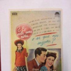 Cine: EL MAYOR Y LA MENOR. GINGER ROGERS. RAY MILLAN. PARAMOUNT PICTURES. SIN USAR.. Lote 204759985