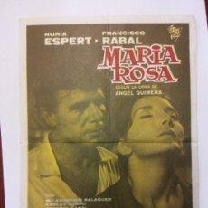 Cine: MARIA ROSA. NURIA ESPERT. FRANCISCO RABAL. MEUSA.. Lote 204765763