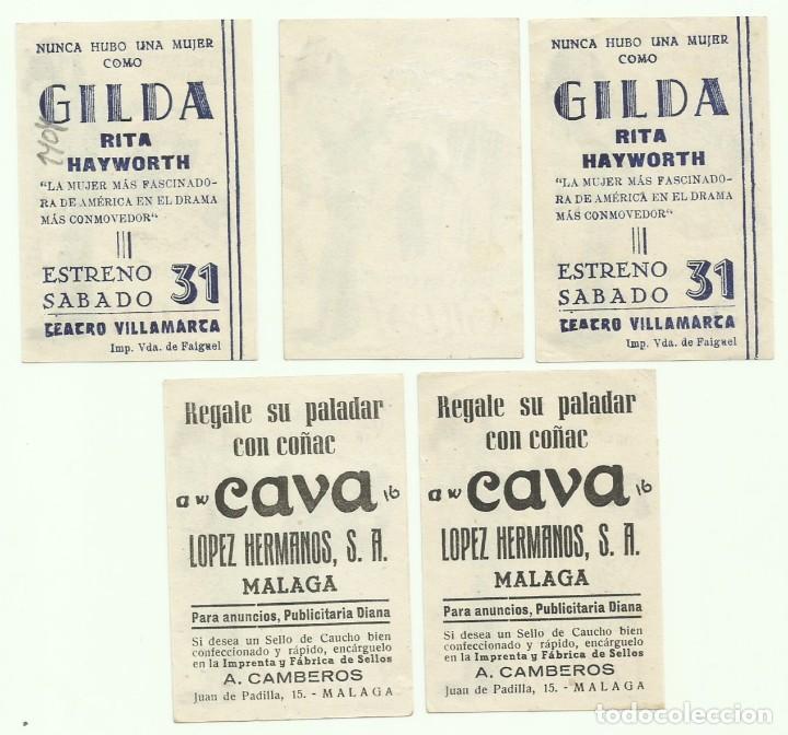 Cine: PTCC 055 GILDA SET COMPLETO 5 PROGRAMAS SENCILLO PEQUEÑO COLUMBIA RITA HAYWORTH - Foto 2 - 204838766