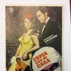 Cine: ESPIA CON MI CARA. ROBERT VAUGHN. SENTA BERGER. CIRE FILMS.. Lote 204978851