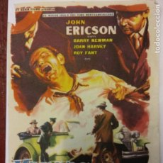 Cine: KANSAS BUSCA A UN ASESINO. JOHN ERICSON. BARRY NEWMAN. REY SORIA FILMS.. Lote 204996167
