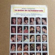 Cine: TEATRO CIRCO ALBACETE 1933 PLANCHA Nº 4 GRANDES ARTISTAS Y PROGRAMACION MUY BUEN ESTADO. Lote 205068997