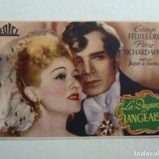 Flyers Publicitaires de films Anciens: LA DUQUESA DE LANGEAIS. SELLO CINE. Lote 205168570