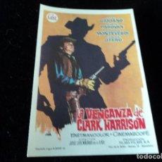 Cine: LA VENGANZA DE CLARK HARRISON LUIGI GIULIANO -. Lote 205347013