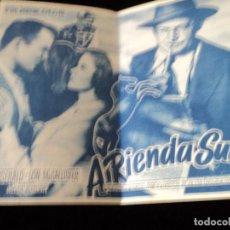 Cine: A RIENDA SUELTA (SHIRLEY TEMPLE - BARRY FITZGERALD - LON MCCALLISTER) CINE SAN ROQUE. Lote 205351983