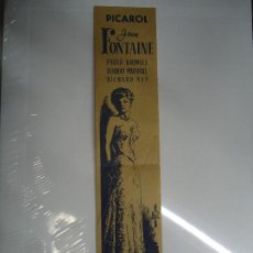 Cine: ABISMOS IVY 1947 RARO PROGRAMA MIDE 29 X 6 CM. PICAROL JOAN FONTAINE, PATRIC KNOWLES, HERBERT MARSHA. Lote 205370227
