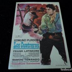 Cine: LOS CUATREROS- EDMUND PURDOM.FRANK LATIMORE CINE HESPERIDES. Lote 205383660
