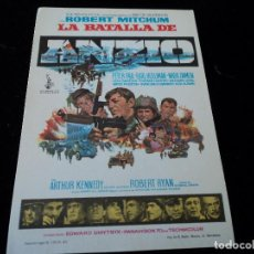 Cine: LA BATALLA DE ANZIO (ROBERT MITCHUM - PETER FALK - EARL HOLLIMAN) CINE HESPERIDES. Lote 205386251