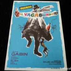 Cine: ARQUIMEDES EL VAGABUNDO (JEAN GABIN - DARRY COWL - BERNARD BLIER - DORA DOLL) CINE HESPERIDES. Lote 205386802