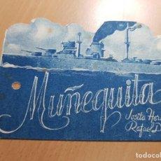Cine: ANTIGUO PROGRAMA DE CINE MUÑEQUITA LEVANTE FILMS. Lote 205393433