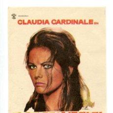 Cine: EL DÍA DE LA LECHUZA, CON CLAUDIA CARDINALE.. Lote 205434517