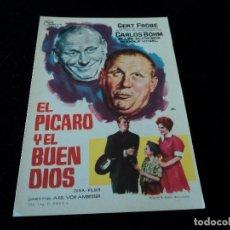 Cine: EL PICARO Y EL BUEN DIOS (GERT FRÖBE - KARLHEINZ BÖHM - RUDOLF VOGEL). CINE HESPERIDES. Lote 205445696