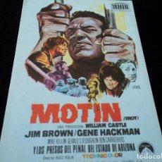 Cine: MOTIN - JIM BROWN - CINE HESPERIDES. Lote 205446242