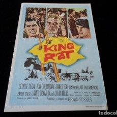 Cine: KING RAT, CON GEORGE SEGAL - CINE HESPERIDES. Lote 205446433